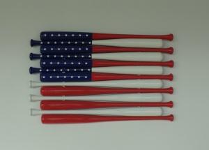 Baseball flag - American