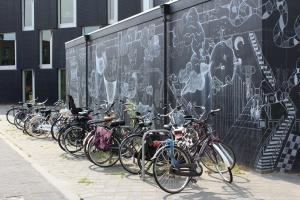 bike black backdrop