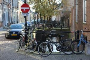 here a bike