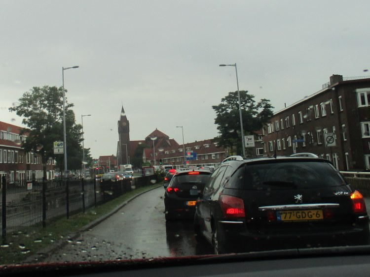 passing the church