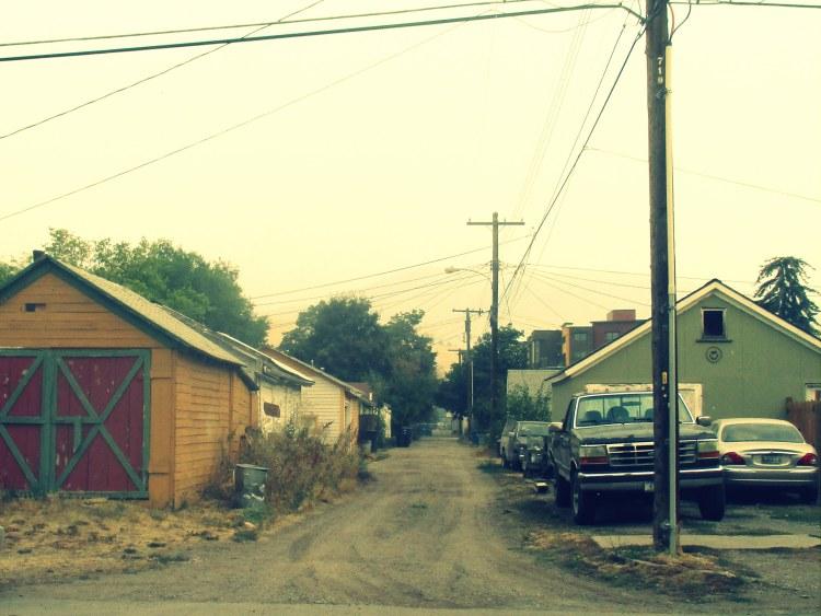 Western alley