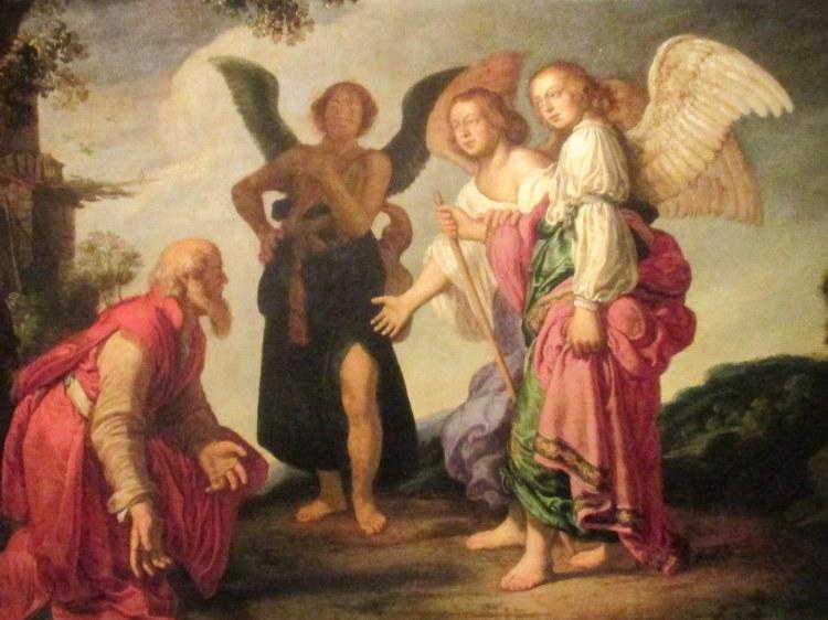 Abraham 3 angels-Pieter Lastman 1623
