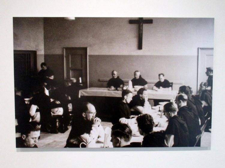 abdij - refter Marienkroon 1955