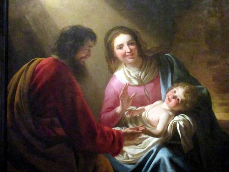 Holy Family - Gerard Honthorst