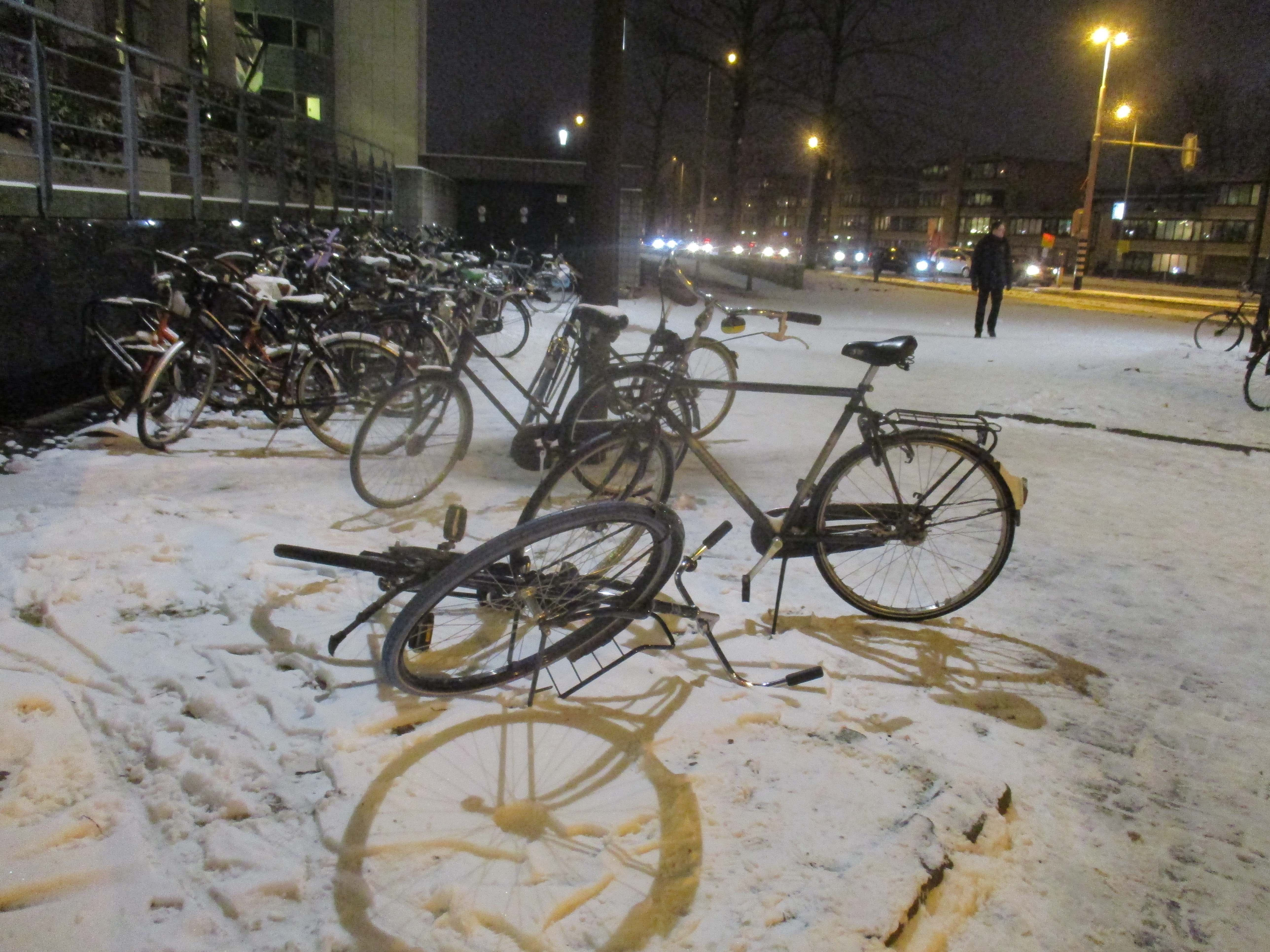 winter bikes of utrecht