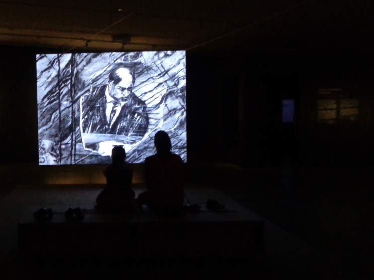 The eyes have it (Kentridge)